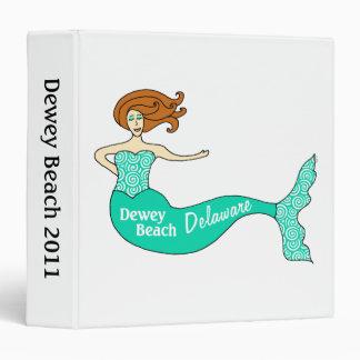 Dewey Beach, DE Mermaid Binder