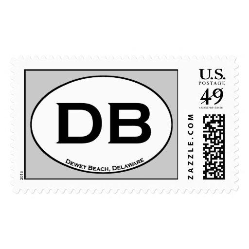Dewey Beach Delaware Stamp