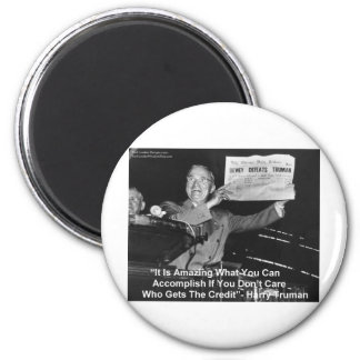 Dewey Beats Truman Funny Gifts Tees Buttons Etc 2 Inch Round Magnet