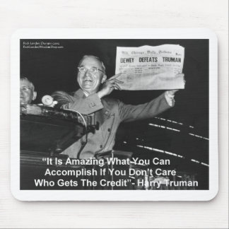 Dewey Beats Truman Funny Gifts Tees Buttons Etc Mouse Pad