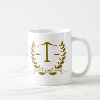 Dewey Cheatem and Howe Coffee Mugs