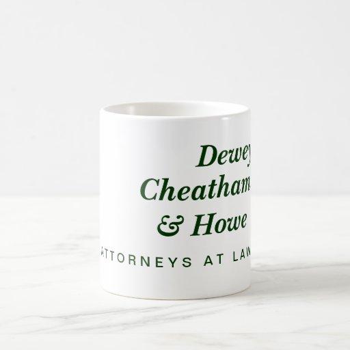 Dewey, Cheatham & Howe Classic White Coffee Mug