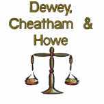 Dewey, Cheatham & Howe Embroidered Shirt