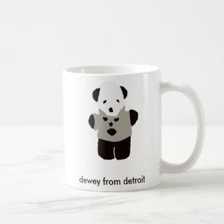 Dewey de la taza flatsimile de Detroit