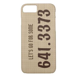Dewey Decimal Coffee iPhone case