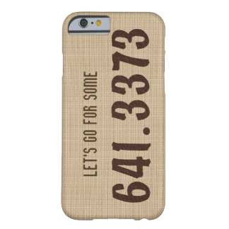 Dewey Decimal Coffee iPhone case Barely There iPhone 6 Case