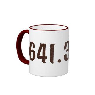 Dewey Decimal Coffee mug