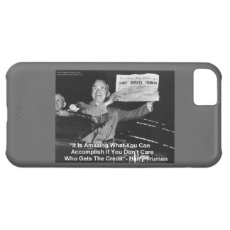 Dewey Defeats Truma Barely There 5C iPhone Case