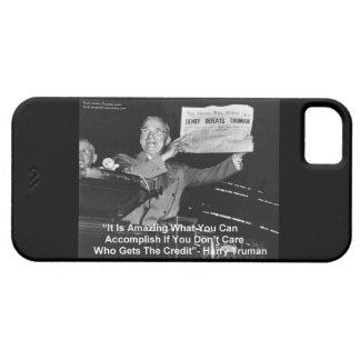 Dewey derrota el caso de Truman Barely There iPhone 5 Case-Mate Cobertura