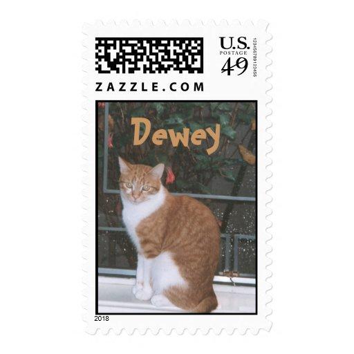 dewey, Dewey Postage Stamps