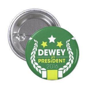 Dewey para presidente Button Pin Redondo De 1 Pulgada