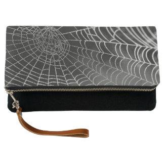 Dewey Spiderweb Foldover Clutch