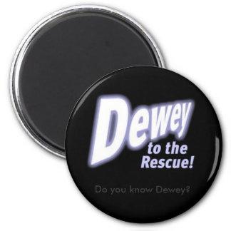 deweytotherescue, Do you know Dewey? 2 Inch Round Magnet