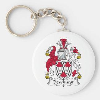 Dewhurst Family Crest Keychain
