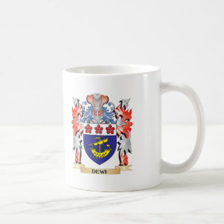 Dewi Coat of Arms - Family Crest Coffee Mug