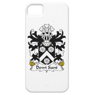 Dewi Sant Family Crest iPhone 5 Covers