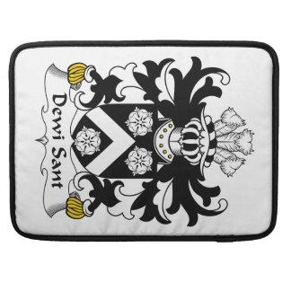 Dewi Sant Family Crest MacBook Pro Sleeve