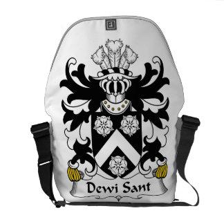 Dewi Sant Family Crest Courier Bags