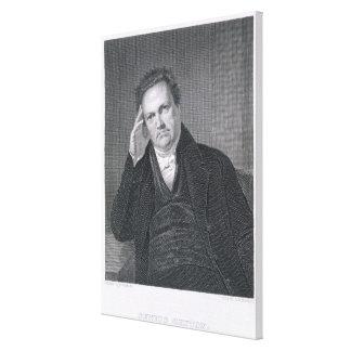 DeWitt Clinton, engraved by Asher Brown Durand (17 Canvas Print