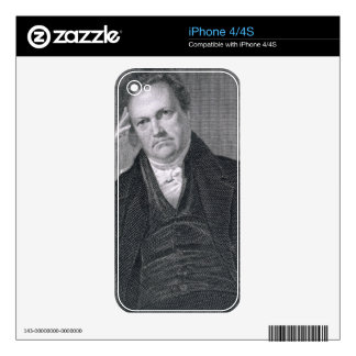 DeWitt Clinton, engraved by Asher Brown Durand (17 Decals For The iPhone 4S