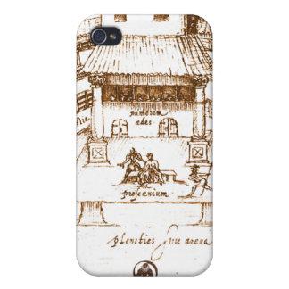 Dewitt's Swan Theatre Sketch iPhone 4/4S Covers