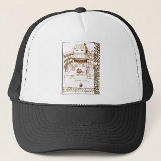 DeWitt's Swan Theatre Sketch Trucker Hat
