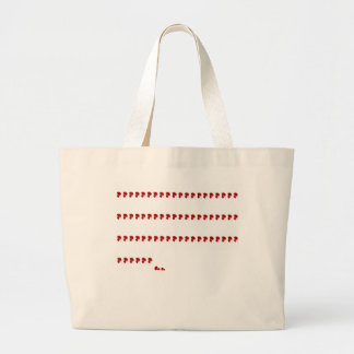 Dexter - 67 and counting large tote bag