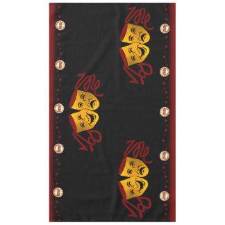 Dexter Drama Table cloth on Black