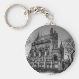 Dexter Mausoleum Basic Round Button Keychain