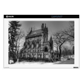 Dexter Mausoleum Laptop Decal
