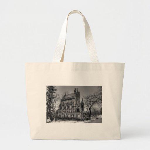 Dexter Mausoleum Tote Bags