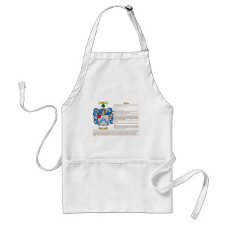Dexter (meaning) adult apron
