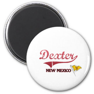Dexter New Mexico City Classic 2 Inch Round Magnet