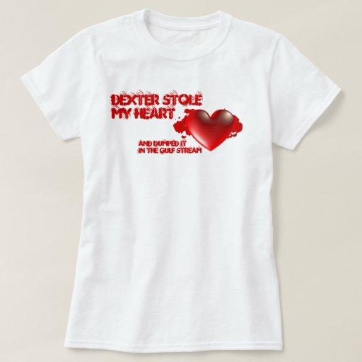 Dexter robó mi corazón camisas