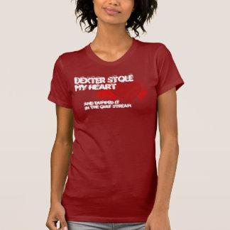 Dexter Stole My Heart T Shirts