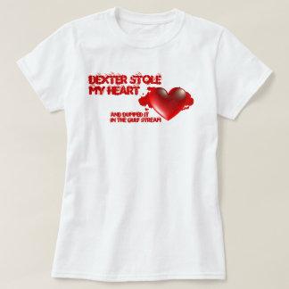 Dexter Stole My Heart Tshirt