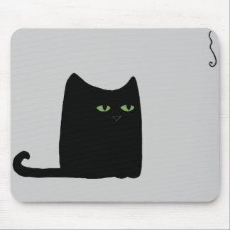 Dexter the Fat Black Cat Mousepad (customizable)