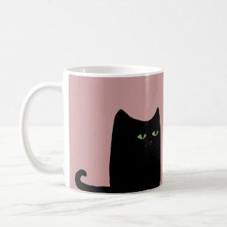 Dexter The Fat Black Cat Mug (customizable)