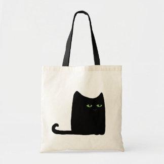 Dexter the Fat Black Cat Tote (customizable)