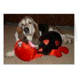 Dexter the love bug card