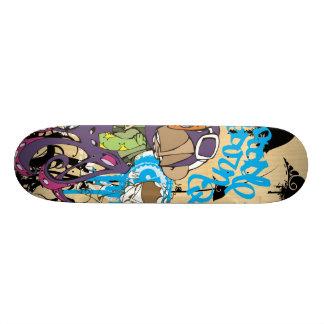 """Dezeinswell """"Entourage Part 4"""" Skateboard Deck"""