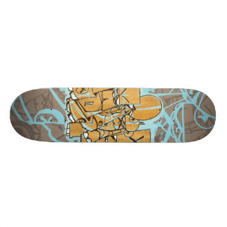 "Dezeinswell ""Fright Club"" Custom Skateboard"