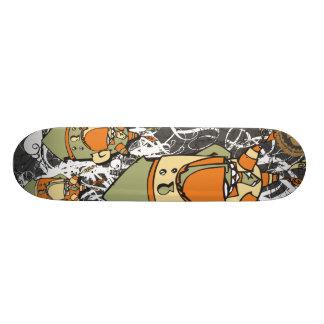 """Dezeinswell """"Get High"""" Skateboard Deck"""