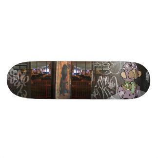 """Dezeinswell """"Waiting Line"""" Skateboard Deck"""