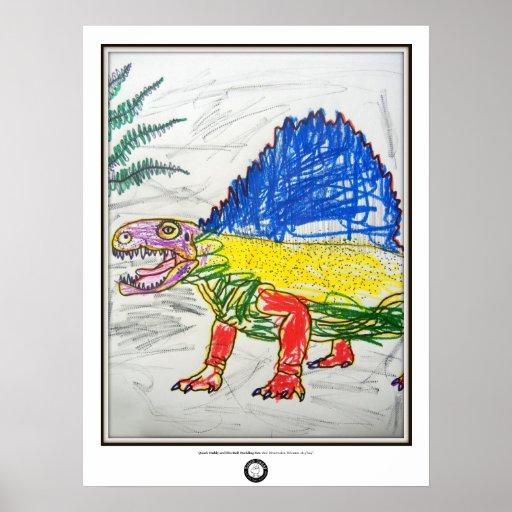 Dezi Dimetrodon Poster