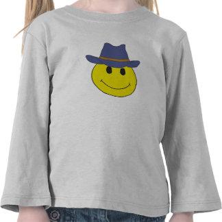 DF- Cowboy Smiley Face Shirts