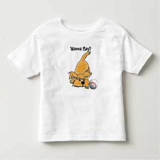 DF- Funny Cartoon Puppy with a Baseball Shirt