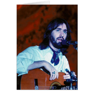 DF in Concert 1976 Notecard Stationery Note Card