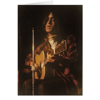 DF in Concert early 70s Notecard Stationery Note Card