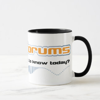 df main t logo front light mug